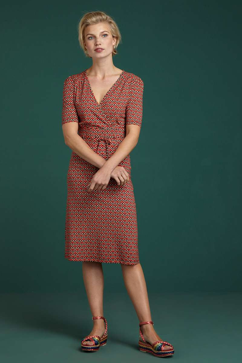 Cecil Dress Vongole Beet Red