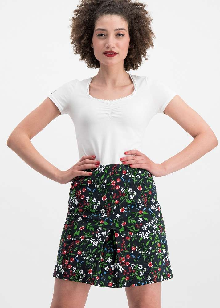 Alltagsfalter Skirt Poppy Field