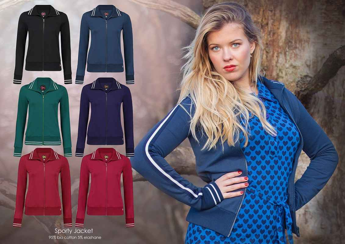 Jacket Sporty (LK) Cerise