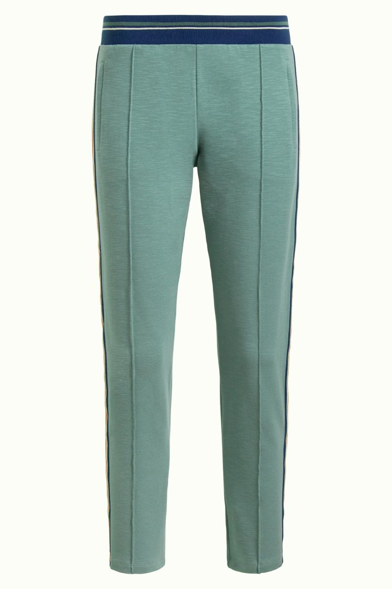 Joni Pants Slub Sweat Fir Green