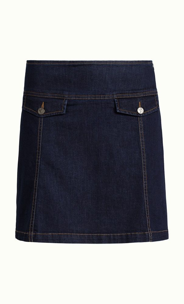 Lucie Skirt Denim Ink Blue